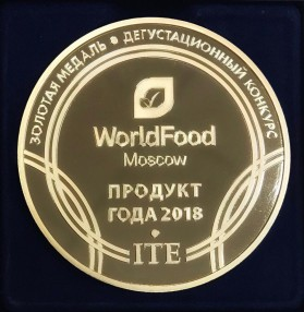 Медаль на Дегустационном конкурсе World Food 2018