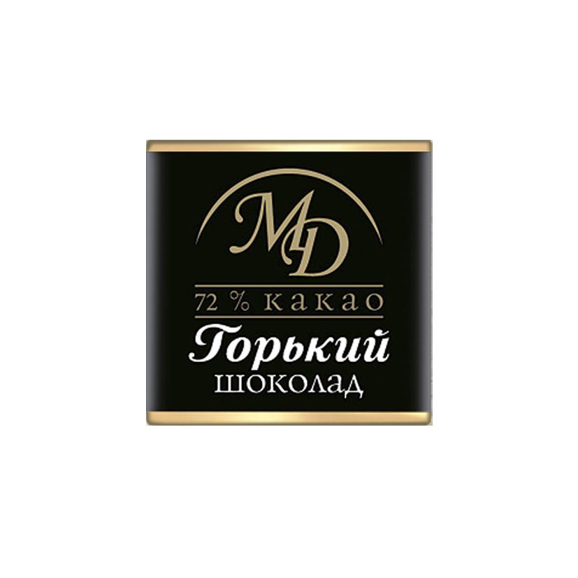 ШОКОЛАД горький 72% какао, 5г / 96 шт
