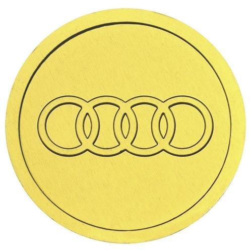 Шоколадные медали с логотипом