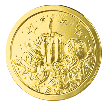 Шоколадные монеты «Новогодние»