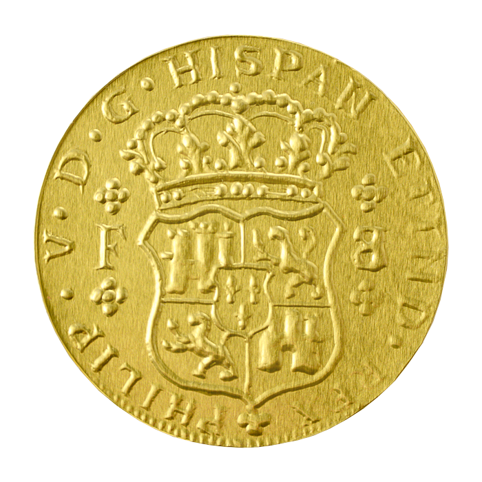 Шоколадные монеты «Пиастры»