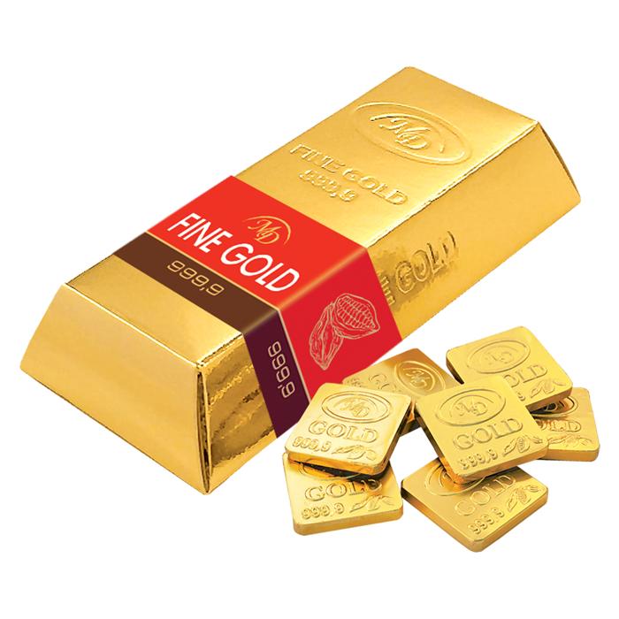 Шоколадный слиток «Золотой Стандарт» 180г