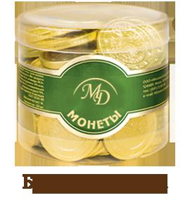 Шоколадные монеты «Евро»
