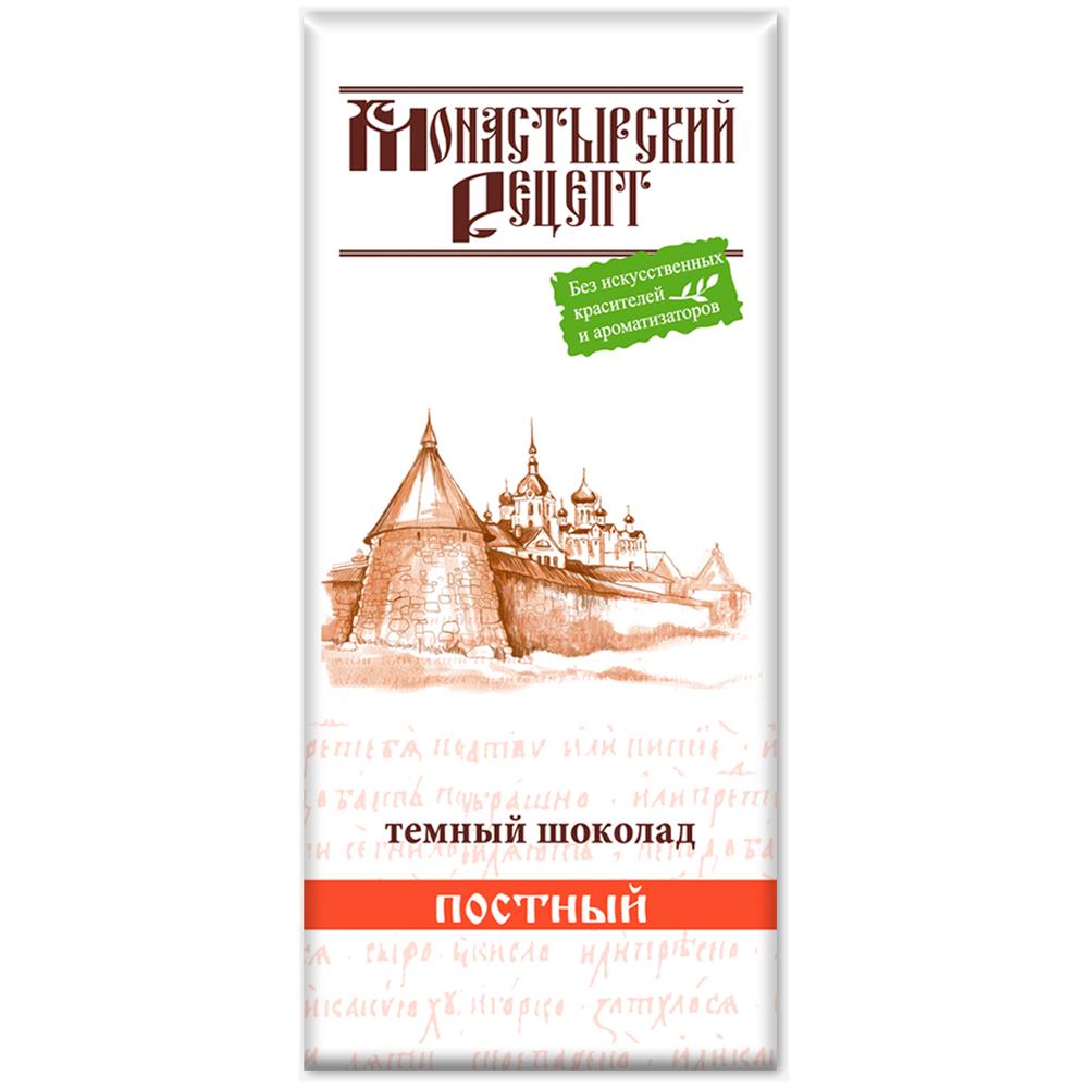 ШОКОЛАД темный «Монастырский рецепт», 85г