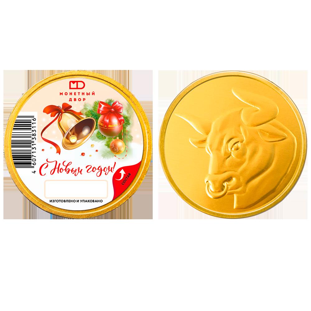 ШОКО медаль «Новогодняя» с наклейкой, 25г