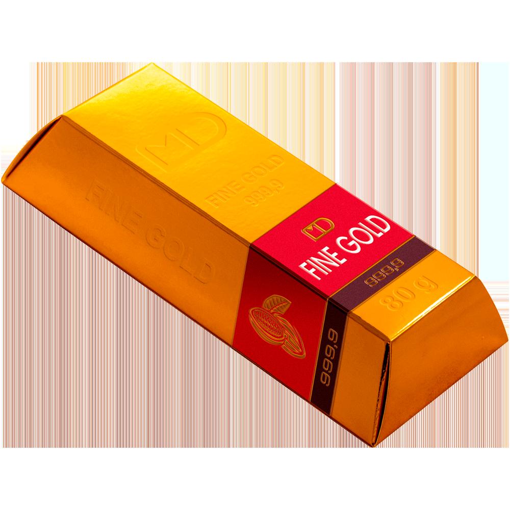 Шоколадный слиток «Золотой Стандарт» 80г