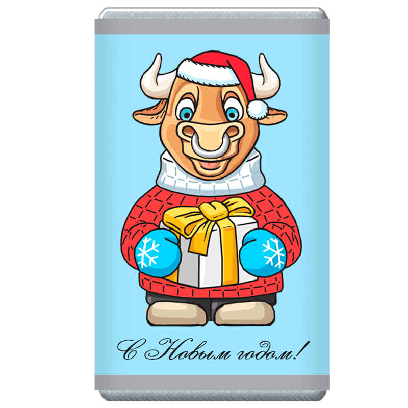 ШОКОЛАД молочный «Символ года» 12г